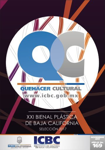 Agenda Cultural del mes de Noviembre de 2017