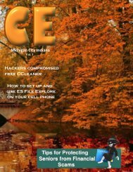ce magazine november issue