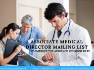 Associate Medical Director Mailing List (1)