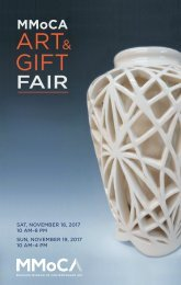 MMoCA Art & Gift Fair 2017 program