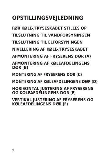 KitchenAid 20RU-D3 A+ SF - 20RU-D3 A+ SF DA (858641211020) Installazione