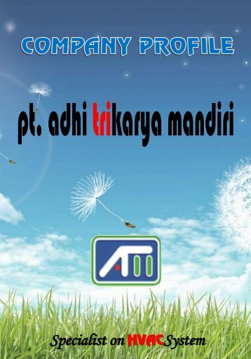 Company Profile pt.adhi trikarya mandiri