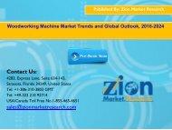 Global Woodworking Machine Market, 2016–2024
