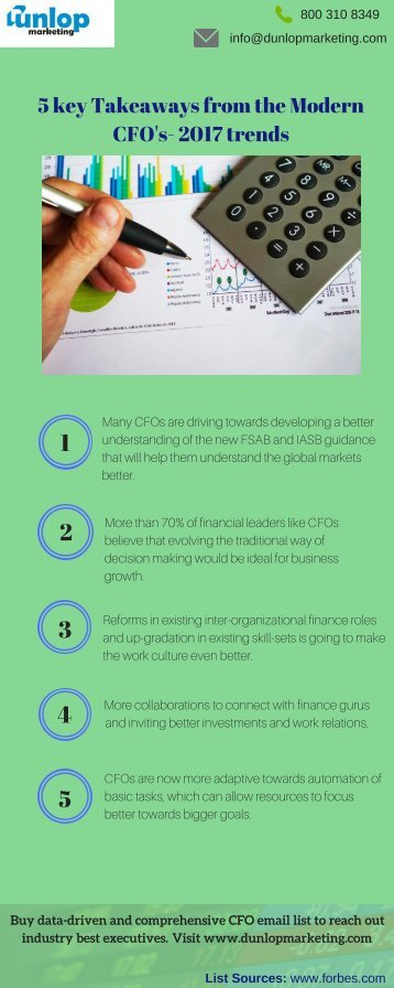 Get Effective CFO Email Lists