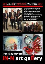 IN-N art gallery Magazin 03/2017