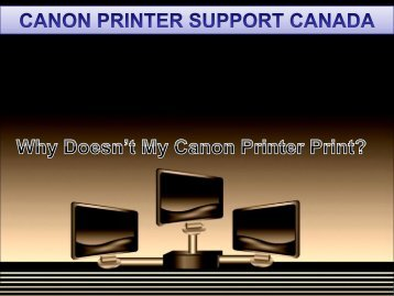 Why Doesn't My Canon Printer Print