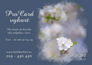 katalog procard 2012
