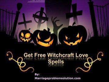 Get Free Witchcraft Love Spells-+91-8557014282