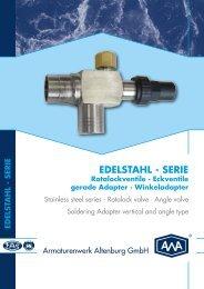 EDELSTAHL - SERIE - AWA Armaturenwerk