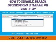 18662182512 How to Disable Search Suggestions in Safari on Mac OS X