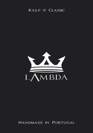 Lambda Golf Catalog for 2018