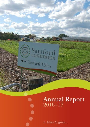 Samford Commons Limited Annual Report 2016-17