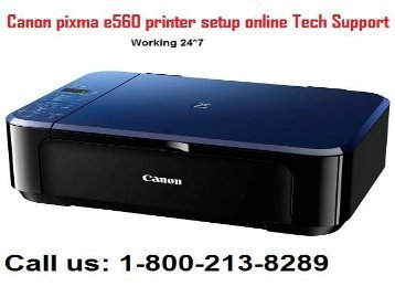 How to download Canon PIXMA E560 Printer driver? 1-800-213-8289