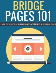 Bridge Pages Guide - What Are Bridge Pages