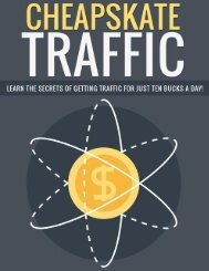 Traffic Guide - Where To Get Internet Traffic