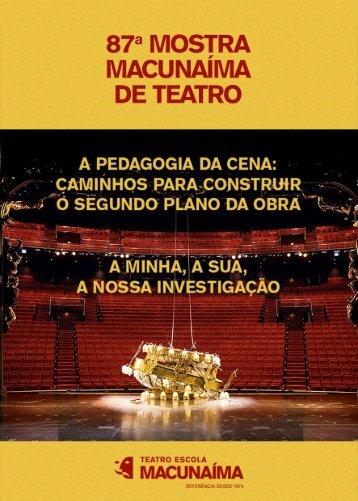 87ª Mostra Macunaíma de Teatro