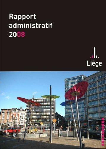 Rapport administratif 2008