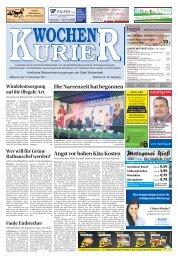 Wochen-Kurier 46/2017 - Lokalzeitung für Weiterstadt und Büttelborn