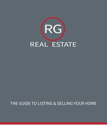 The Guide To Listing & Selling Your Home