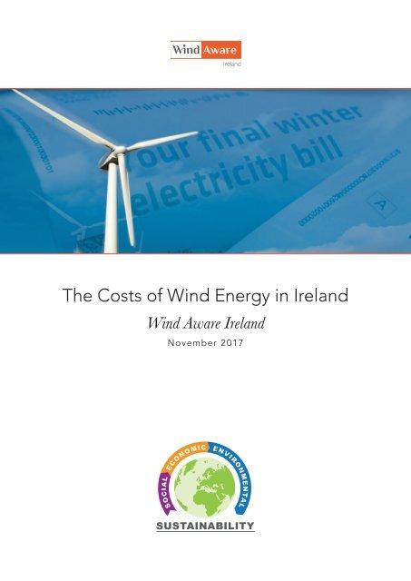 Costs of Wind Energy Report