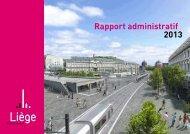 Rapport administratif 2013
