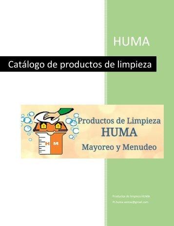Catalogo HUMA