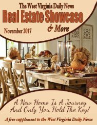 The WV Daily News Real Estate Showcase & More - November 2017
