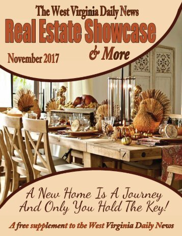 The WV Daily News Real Estate Showcase & More - November 2017