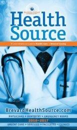 Brevard Health Source 2016