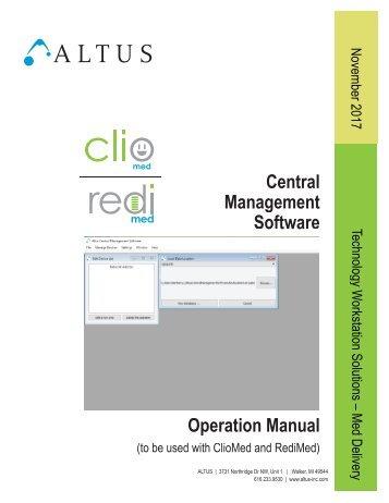 Central Management Software Manual Rev 5