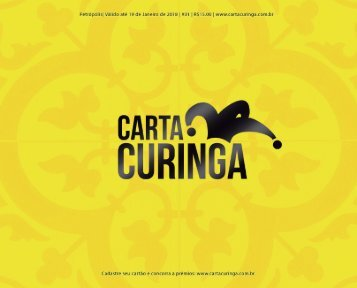 Carta Curinga Petrópolis 01ª Ed