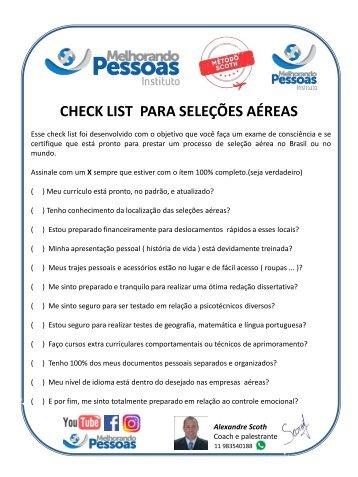 Check list grátis