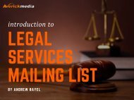 legal services mailing list
