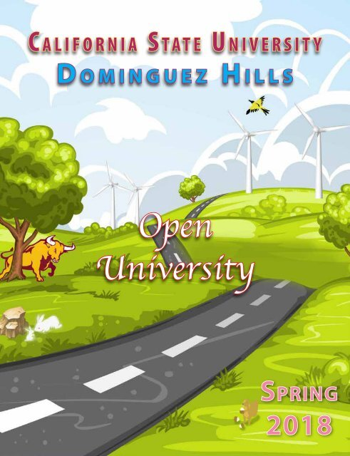 Spring 2018 Open University Schedule Interactive