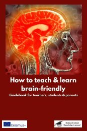 Ebook. How to teach and learn brain-friendly.