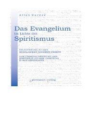 Evangelium im Licht des Spiritismus