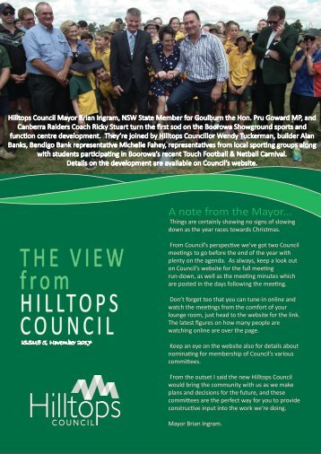 The View - November 2017