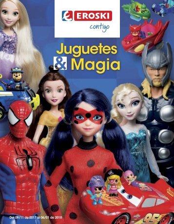 Folleto EROSKI Juguetes & Magia hasta 6 de Enero 2018