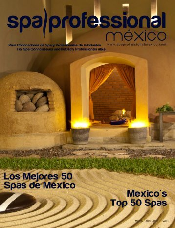 Spa & Wellness MexiCaribe 06, Mar-Abril 2012