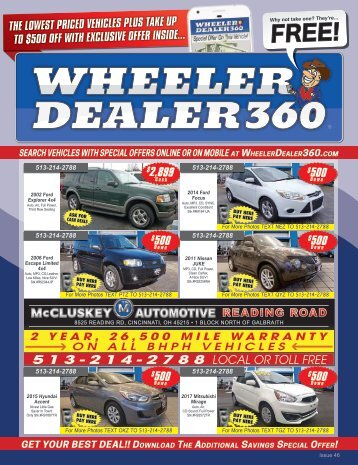 Wheeler Dealer 360 Issue 46, 2017