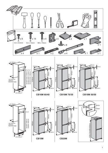 KitchenAid ZCBB 7030 AA - ZCBB 7030 AA EN (F101699) Installazione
