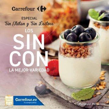 Catálogo Carrefour Especial sin gluten y sin lactosa (2) hasta 31 de Dicimbre 2017