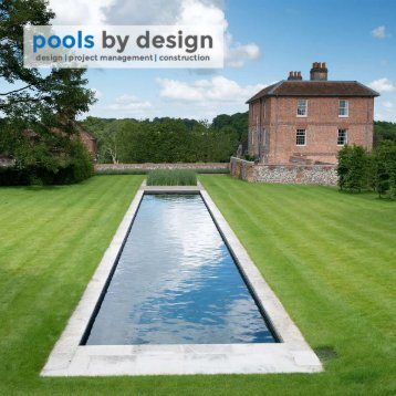 pools by design brochure
