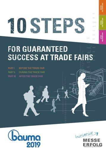 bauma 2019 // 10 steps for guaranteed trade fair success