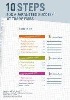 bauma 2019 // 10 steps for guaranteed trade fair success - Page 2