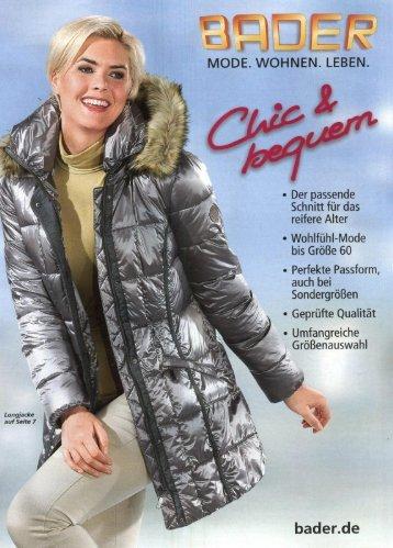 Каталог Bader Chic&Bequem осень-зима 2017/2018. Заказ одежды на www.catalogi.ru или по тел. +74955404949