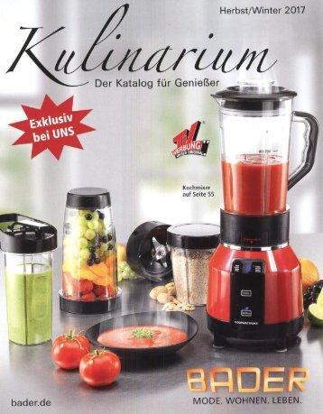 Каталог Kulinarium осень-зима 2017. Заказ товаров на www.catalogi.ru или по тел. +74955404949