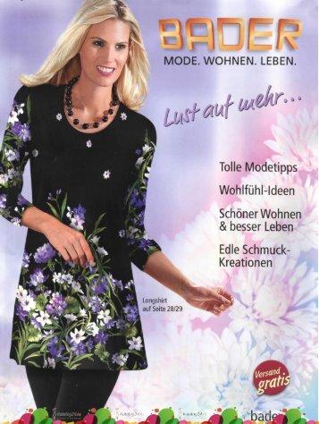 Каталог Bader Lust auf Mode & Mehr осень-зима 2017/2018. Заказ одежды на www.catalogi.ru или по тел. +74955404949