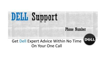 Dell Support Phone Number +1-855-676-2448 (USA, CANADA)