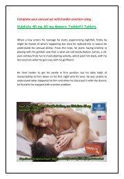 Buy Vidalista 40 mg 60 mg Tadalafil Online at BestGenericDrug24 in USA UK